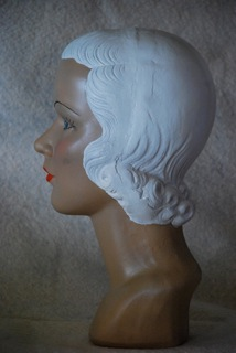 Mannequin Heads by Marge Crunkleton